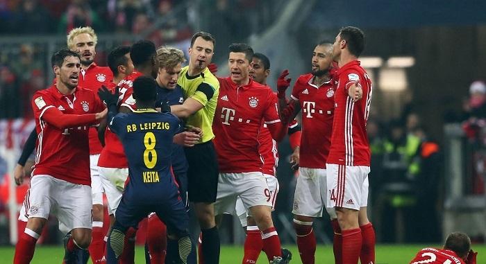 Bayern Munich vs RB Leipcig